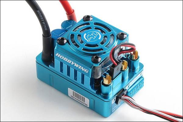 Xerun Brushless Regler 120A BEC 3A 2-4s SCT Pro 1-4s Blau