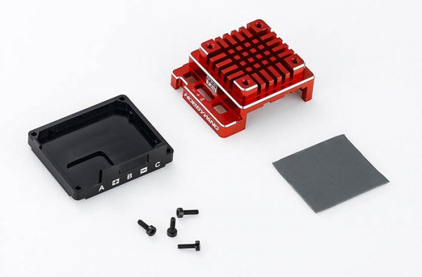 Ersatz Alugehäuse Set für X120A-V3.1 Rot