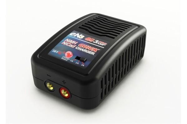 SkyRC Ladegerät eN3 AC NiMH/NiCd 4-8 Zellen 1-3A 20W