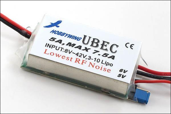 BEC-Regler UBEC 5A 3-10s