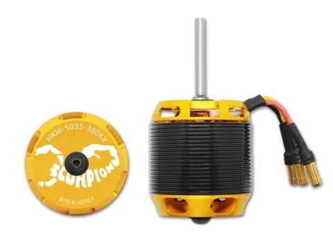 Scorpion HKIII-5035-380KV für 800er Helis