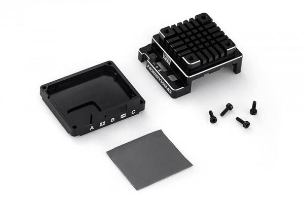 Ersatz Alugehäuse Set für X120A-V3.1 Schwarz