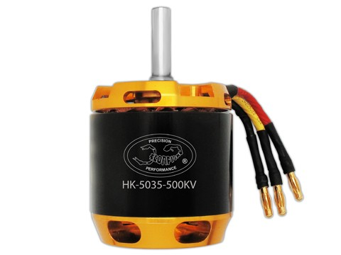 Scorpion HK5035-500KV für 800er Helis
