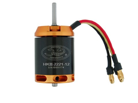 Scorpion HK II 2221 12-Turn 2580Kv