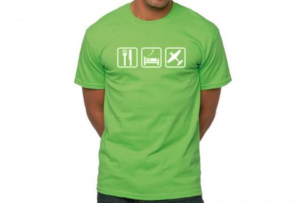 Parkflieger ESF T-Shirt Men-L (grün)