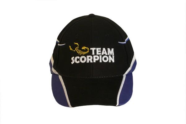 Scorpion Cotton Basecap blau