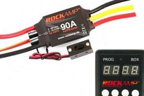 ROCKAMP 90A Regler 5A XBEC V2 + Programmierbox
