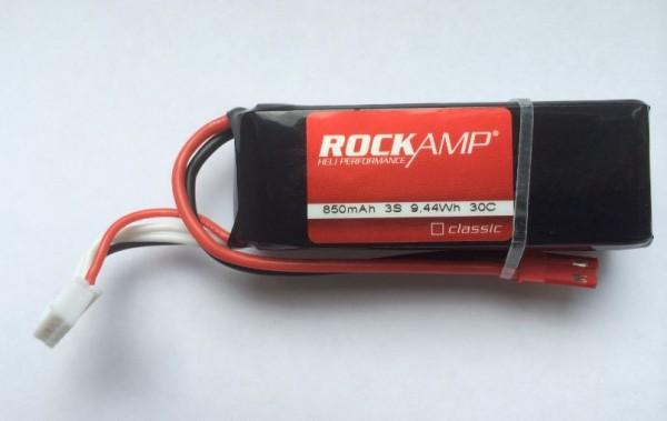 ROCKAMP 850mAh 3S classic 30C mit JST-BEC