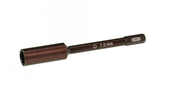 EDS Schnellwechsel Nuss Schraubendreher 7.0 X 75mm Spitze