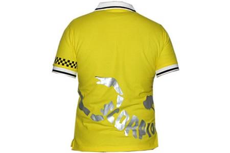 Scorpion Polo-Shirt Gelb Men XL