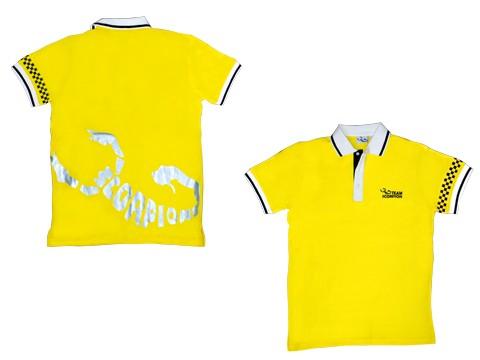 Scorpion Polo Shirt (Yellow-XXXL)