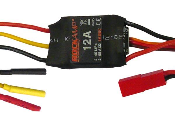 ROCKAMP 12A Regler 1A BEC V2 mit JST-BEC