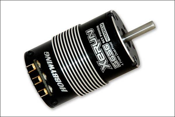Xerun Brushless Motor 3656 4700KV Sensored für 1/10 SCT