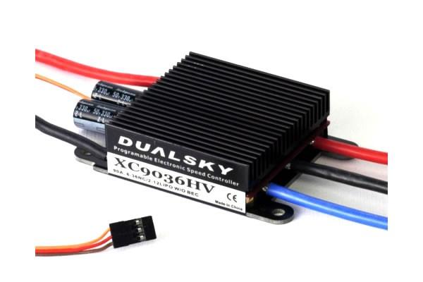 Dualsky 90A HV Brushless Regler ESC V2