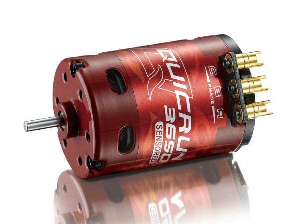 QuicRun Brushless Motor 3650 3300KV 10.5T Sensored für 1/10