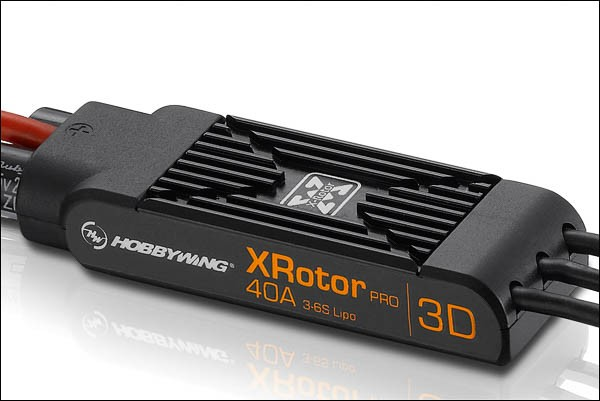 XRotor Pro Regler 40A 3-6s 3D mit Kabel (2 Stück)