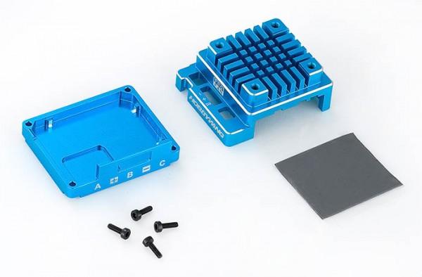 Ersatz Alugehäuse Set für X120A-V3.1 Blau
