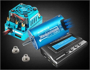 Xerun Combo D SCT Pro Regler Blau / Motor 4068SD 2250KV