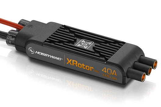 XRotor Pro Regler 40A 3-6s mit Motorbuchse (COB) (2 Stück)
