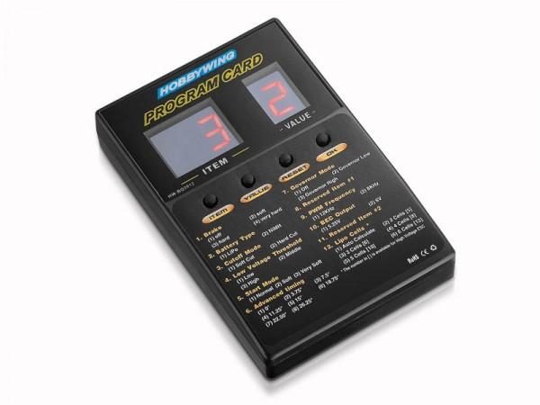 Programmierbox 2A LED für Hobbywing Platinum Regler