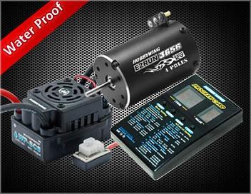 Ezrun Combo C1 Regler WP SC8 / Motor 3656 3400kV 1/10 SCT