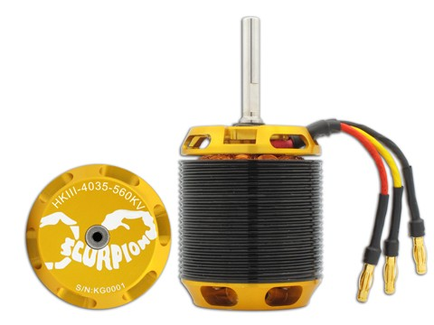Scorpion HK4035-560KV V3