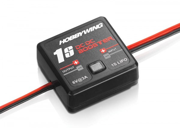 DC-Booster für 1s Lipo, Ausgang 6V 2 Ampere