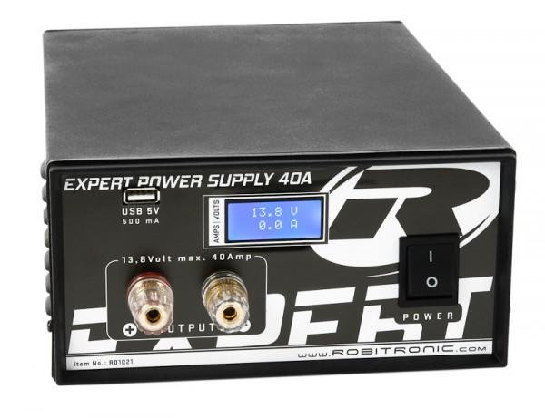 Expert Schaltnetzteil 40A, LCD, USB