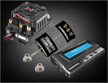 Xerun Combo C3 SCT Pro Regler / Motor 3656SD 3400KV