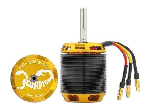 Scorpion HKII-4225-550KV Limited Edition V2