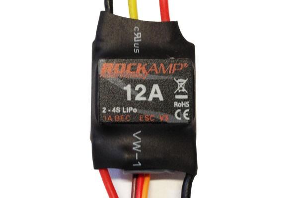 ROCKAMP 12A Regler 1A XBEC V3 mit EC3