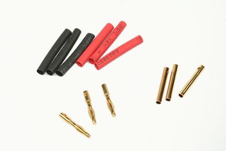Rockamp Goldkontakt Stecker 2mm