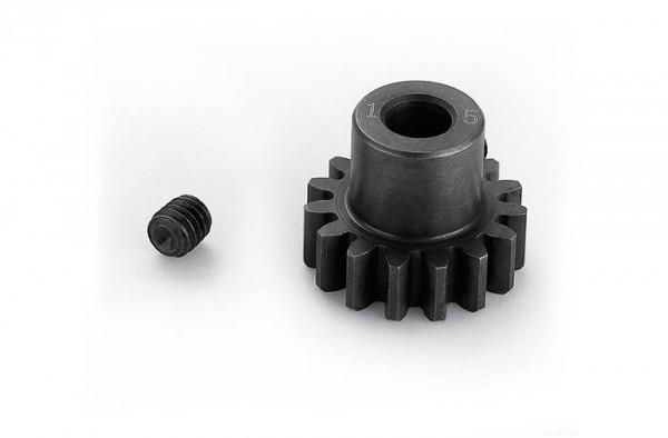 Motorritzel 15T, Modul1 5mm Shaft