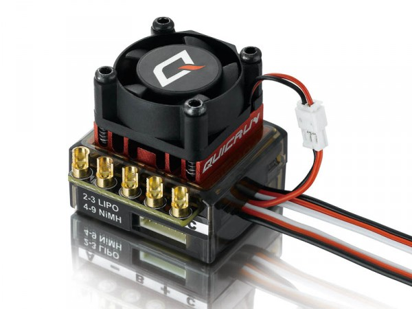 QuicRun Regler 10BL60 Brushless 60A Sensored 1/10
