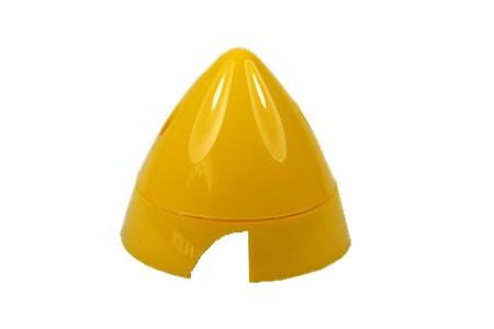 2-Blatt Spinner 64mm gelb