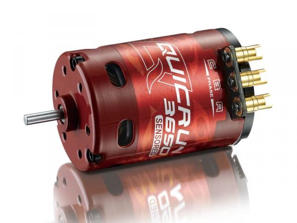 QuicRun Brushless Motor 3650 1900KV 17.5T Sensored für 1/10