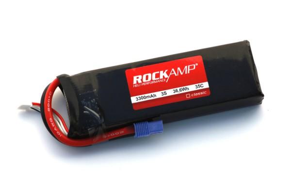 ROCKAMP 3300mAh 3S classic 35C mit EC3