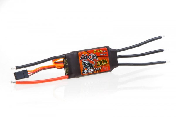 Rockamp Akia 30A / 2-4S Lipo / 2A BEC